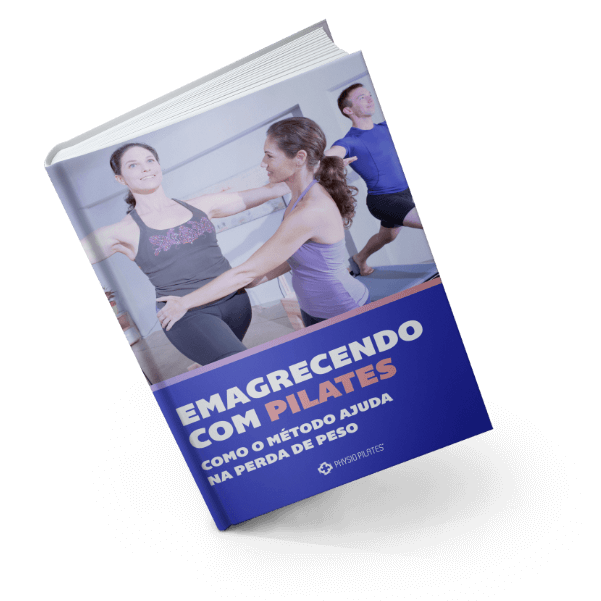 Capa do eBook 'Emagrecendo com Pilates'